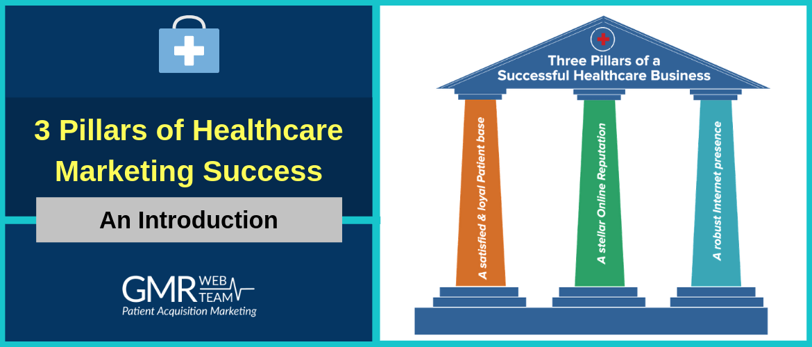 An Introduction to the 3 Pillars of Healthcare Marketing Success