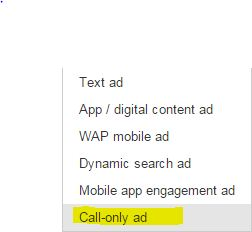 Call Only Ad: A New Feature in Google AdWords