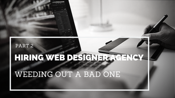 12 ways to spot a bad web designer agency