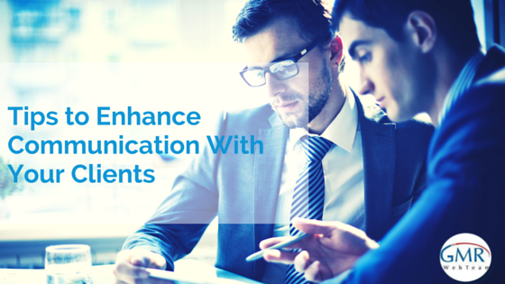 Improve Communication with your Clients