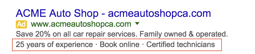 AdWords Introduces Dynamic Callout Extensions to Improve Ad CTR
