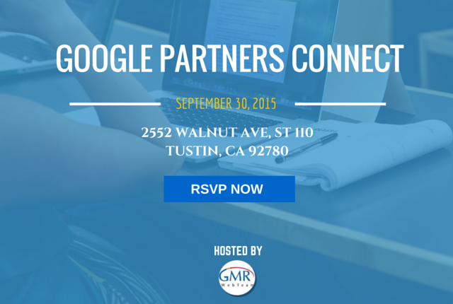 Google Partners Connect September 30, 2015