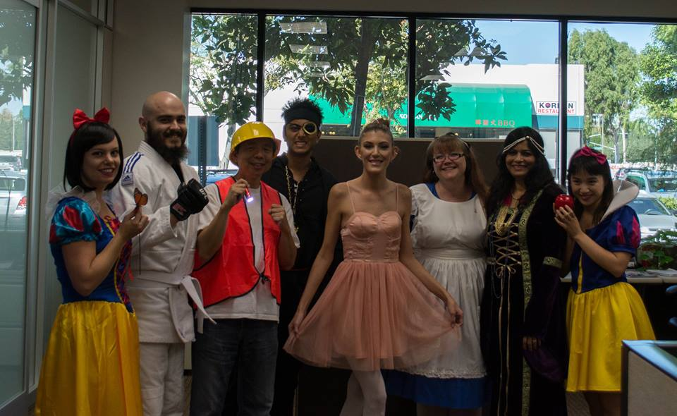GMR Web Team Celebrates Halloween