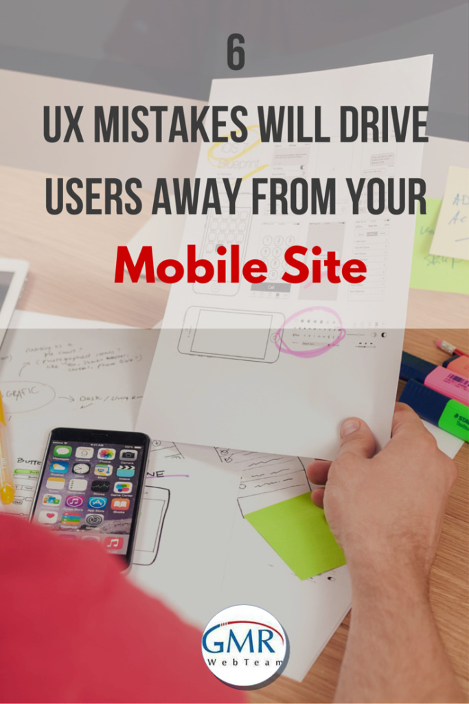 6 UX Mistakes Will Drive Users Away From Your Mobile Site [Pin]