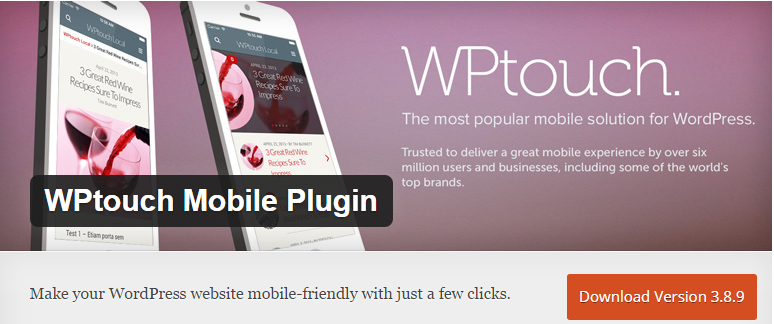 WPTouch Mobile