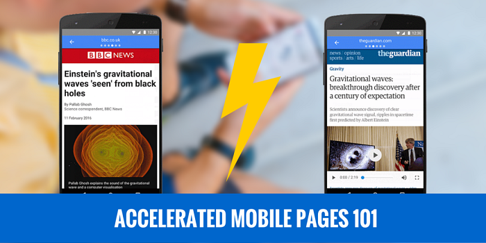 Google's AMP 101: A Small Publisher Guide to Accelerated Mobile Pages
