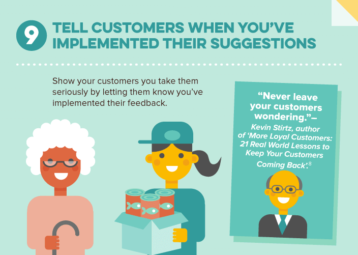 Report Implementation of Customer's Suggestions