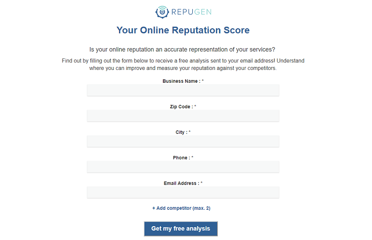 Online Reputation Score