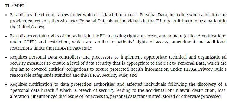 GDPR for Healthcare