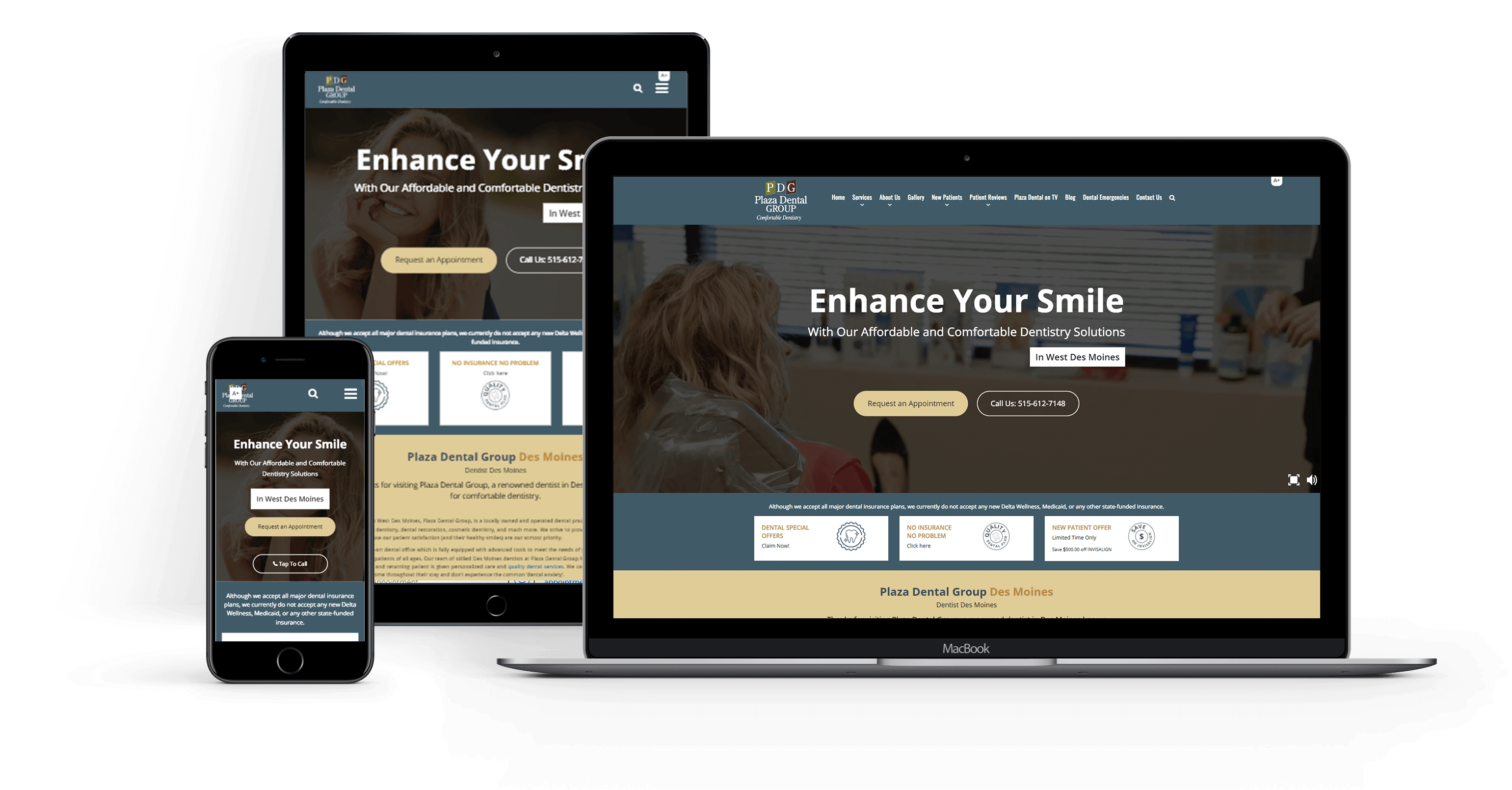 Dental Marketing Solution for Plaza Dental Group