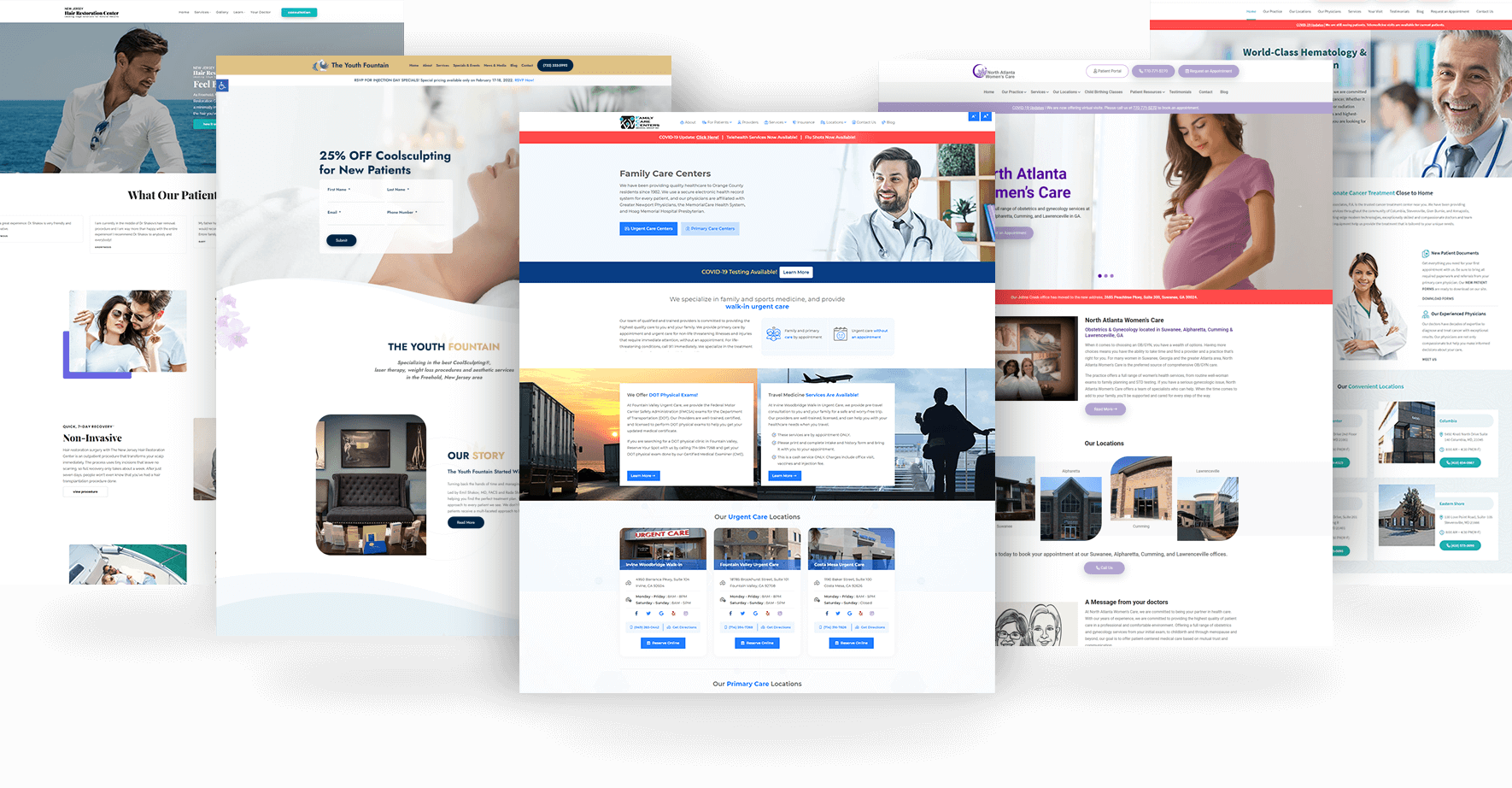 Featured Medical Website Design Examples